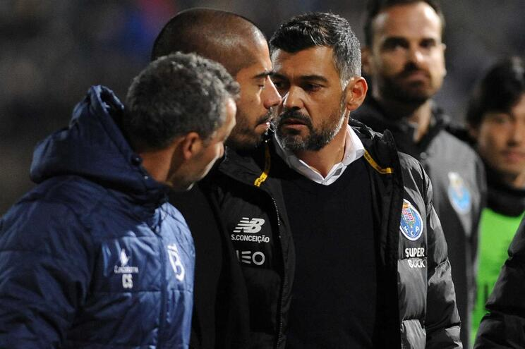 Sérgio Conceição e Pedro Ribeiro