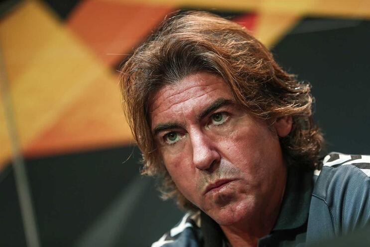 Ricardo Sá Pinto, treinador do Braga