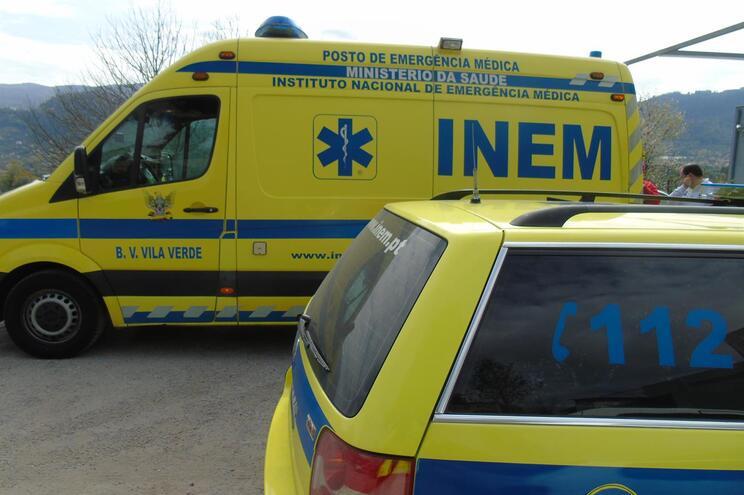 Idoso morre em despiste de motorizada em Vila Verde