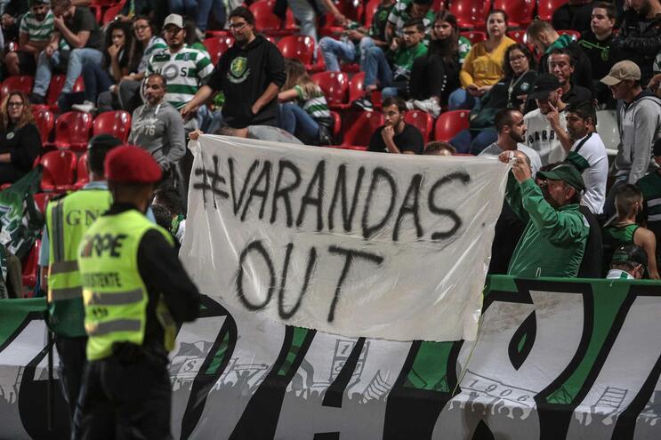 Sporting multado por insultos a Varandas e invasão à garagem