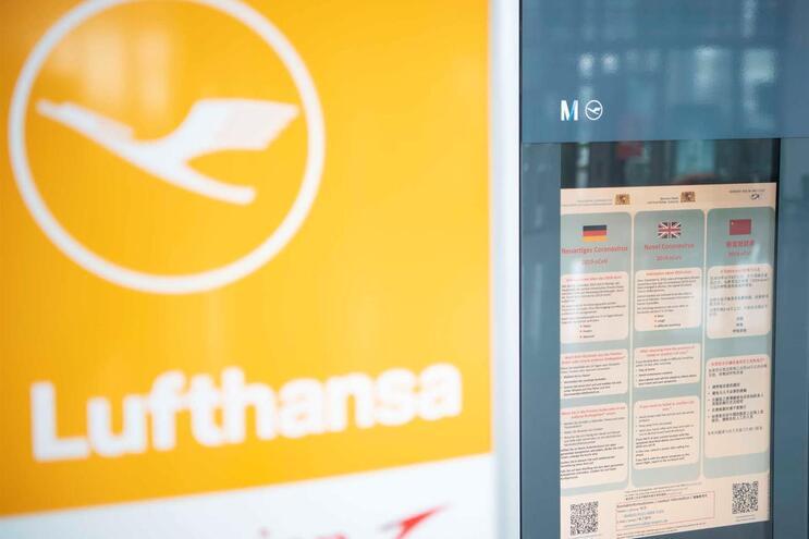 Lufthansa cancela mais de 7000 voos em março por quebras na procura
