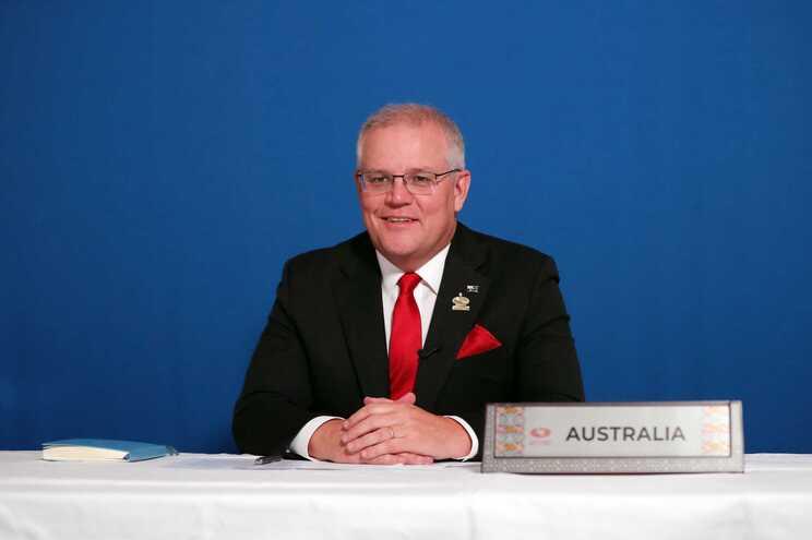 Primeiro-ministro australiano, Scott Morrison