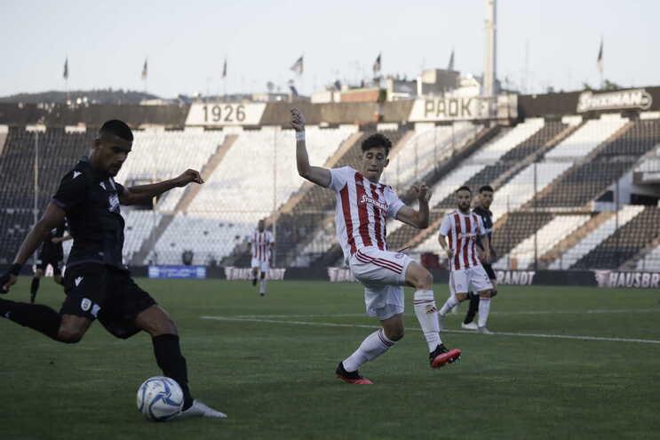 PAOK recuperou o segundo lugar do campeonato grego