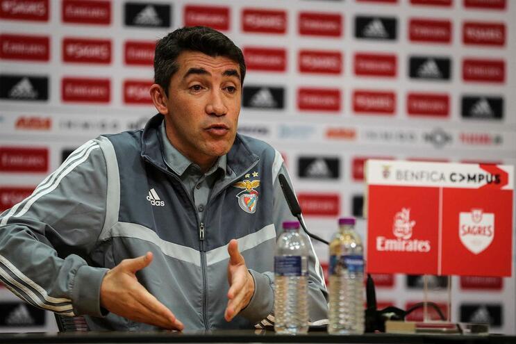 Bruno Lage, treinador do Benfica