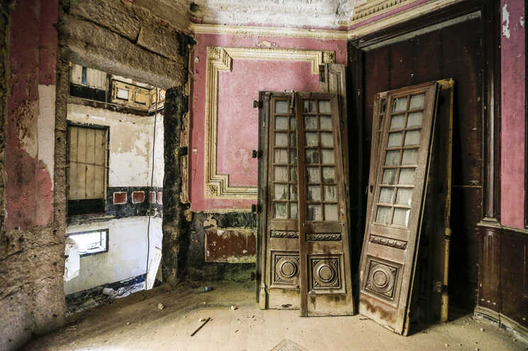 Palacetes ao abandono no Porto
