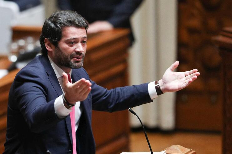 O deputado do Chega, André Ventura