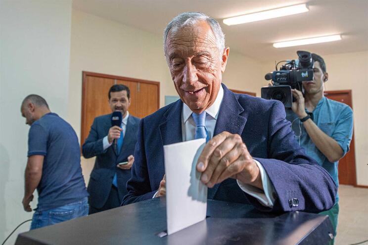 Eleitores do PS querem apoio à recandidatura de Marcelo