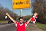 Adeptos do Benfica enganam-se e vão parar a outra Frankfurt