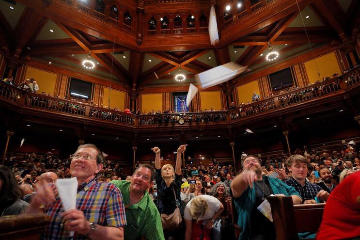 Entrega de prémios aconteceu na quinta-feira, em Harvard