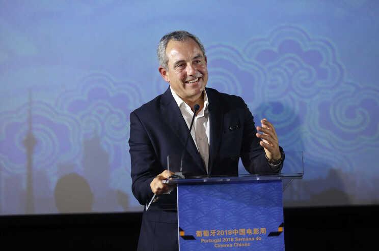 Luís Chaby Vaz, do Instituto do cinema e audiovisual