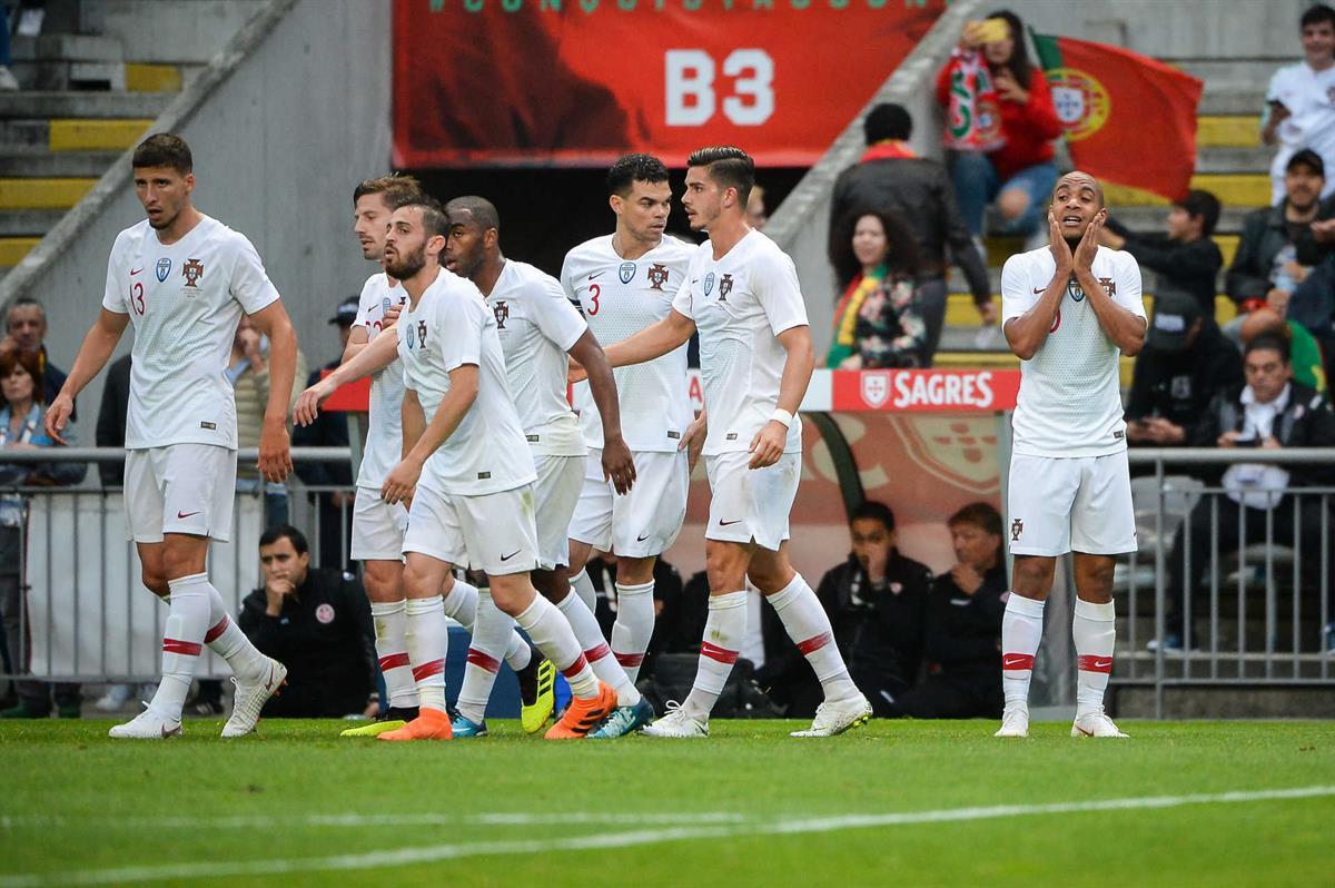 Portugal empata frente à Tunísia no primeiro ensaio para o Mundial