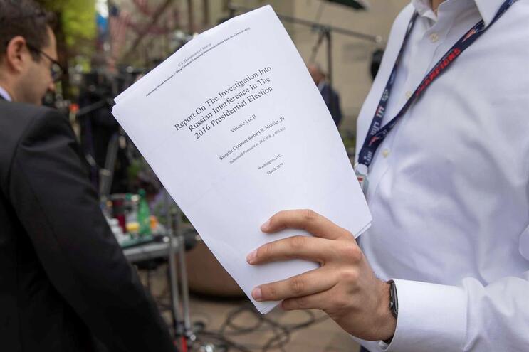 """Relatório Mueller: """"Não há provas suficientes de que Trump obstruiu a justiça"""""""