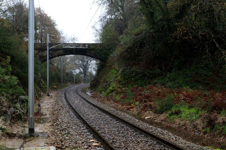 Mau tempo provocou estragos na ferrovia