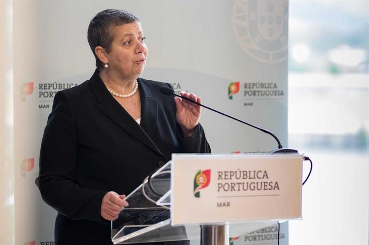 A ministra do Mar, Ana Paula Vitorino