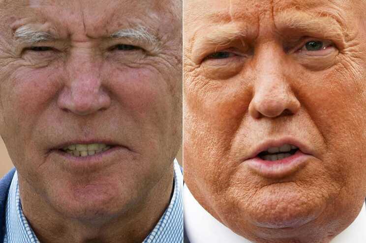 Biden e Trump defrontam-se num debate televisivo na próxima terça-feira