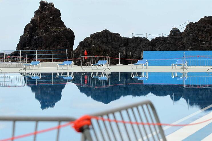 Governo Regional da Madeira autorizou a reabertura das praias, complexos balneares e acessos ao mar da