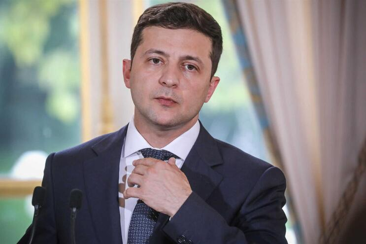 Presidente ucraniano Volodomyr Zelensky