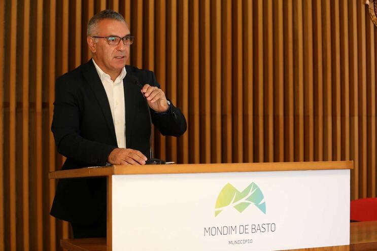 Humberto Cerqueira, presidente da Câmara Municipal de Mondim de Basto
