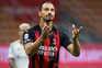 Avançado sueco do AC Milan, Zlatan Ibrahimovic