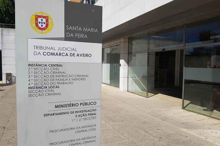 Três cidadãos foram ouvidos no Tribunal de Santa Maria da Feira
