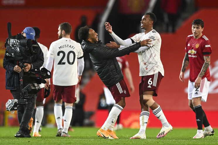 O Manchester United perdeu este domingo