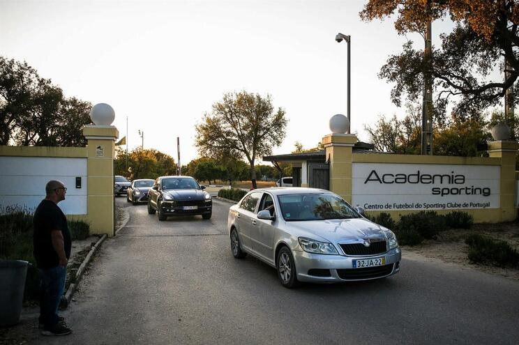 Academia de Alcochete foi o palco dos incidentes
