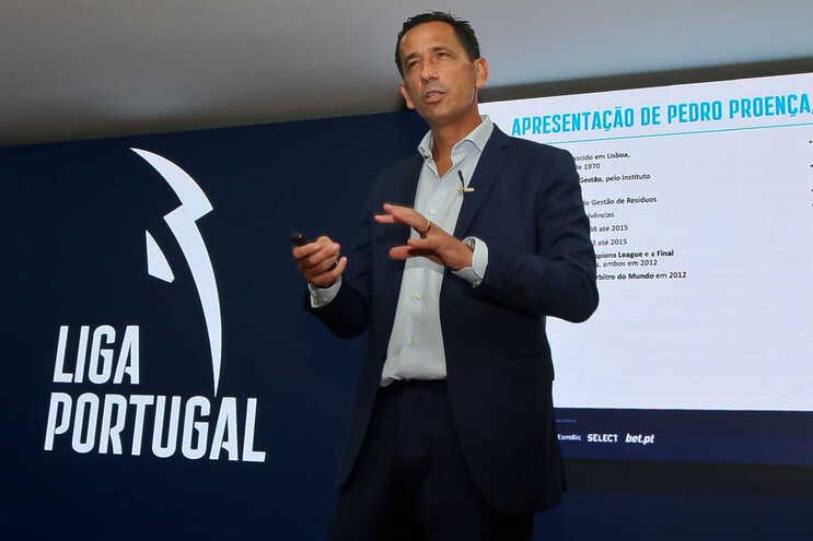 Pedro Proença, presidente da Liga Portuguesa de Futebol Profissional