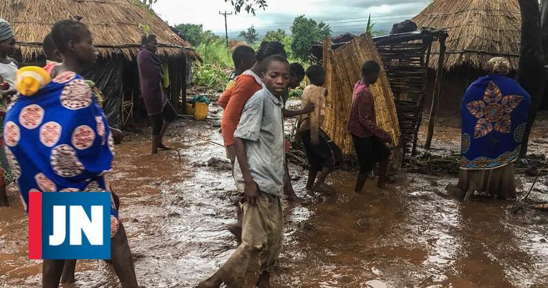 Avião da ONU entrega alimentos às vítimas de ciclone em Moçambique