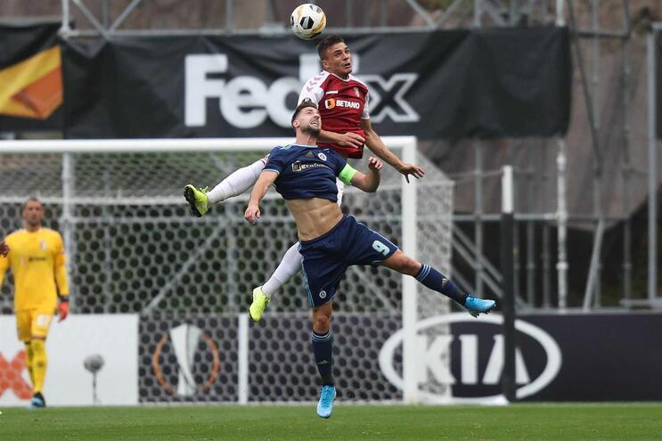 Sporar já está em Lisboa para assinar pelo Sporting