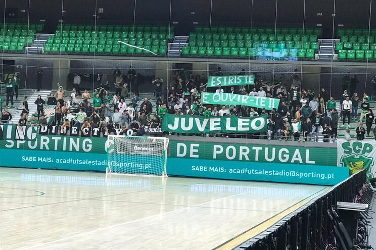 Claques do Sporting usam gafe para contestar Frederico Varandas