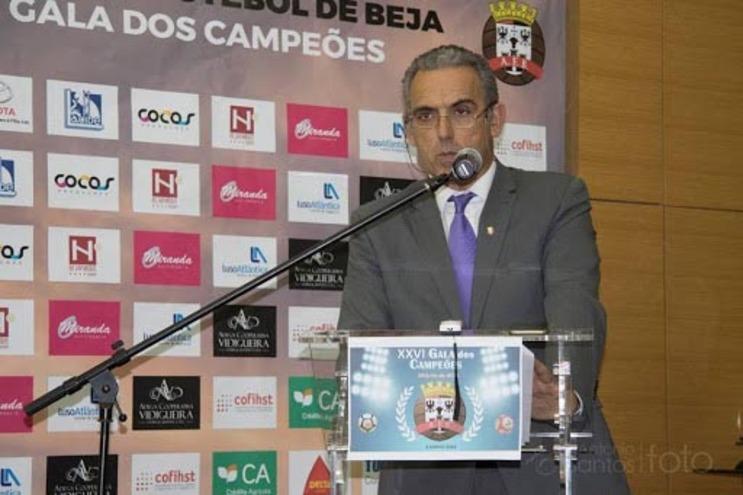 Presidente da AFBeja, Pedro Xavier