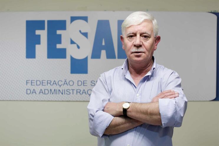 José Abrão, secretário-geral da Federação de Sindicatos da Administração Pública