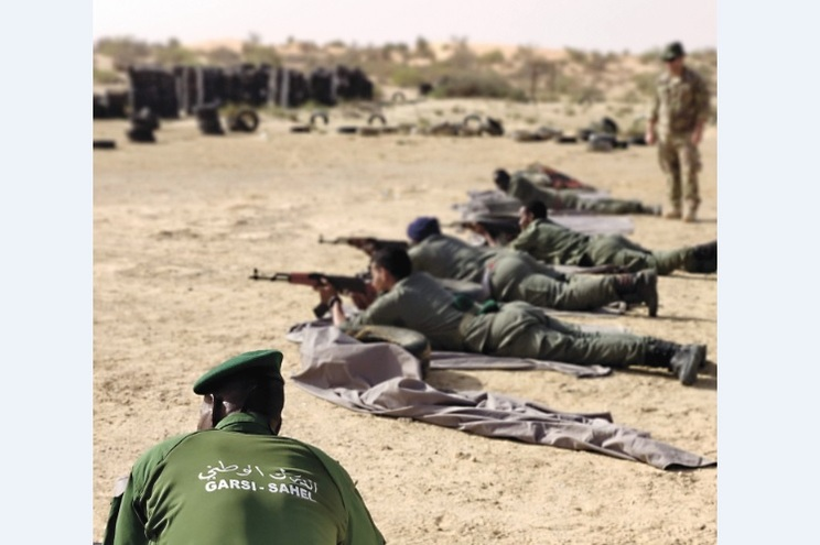 GNR foi a África ensinar técnicas de combate no âmbito de operações especiais. Próxima formação será