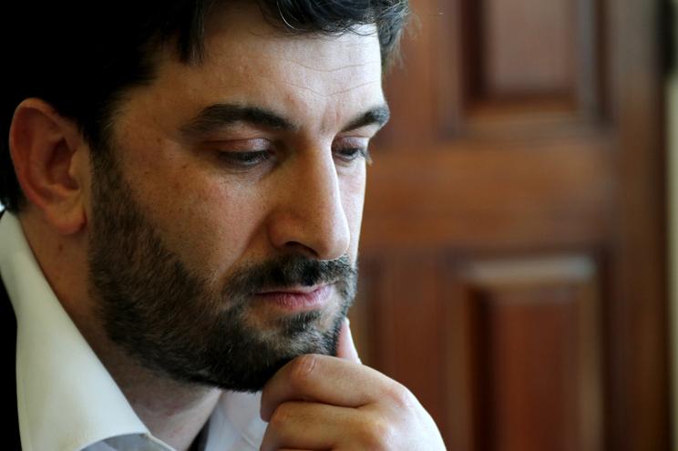 O ministro da Educação, Tiago Brandão Rodrigues