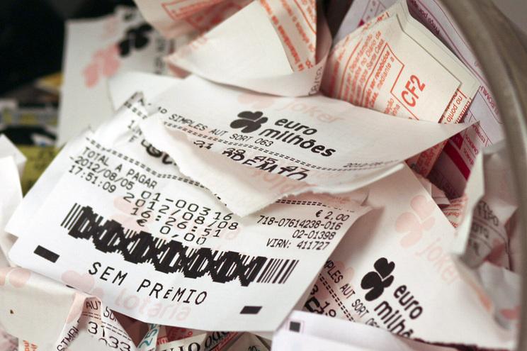 """""""Jackpot"""" de 190 milhões no próximo Euromilhões"""