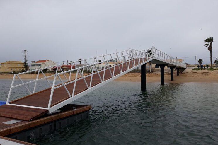 Praia de Faro já tem novo pontão de apoio às atividades náuticas