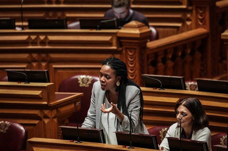 Joacine Katar Moreira, deputada única do Livre