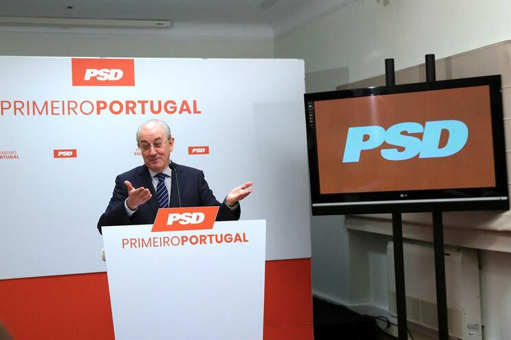 O presidente do PSD, Rui Rio