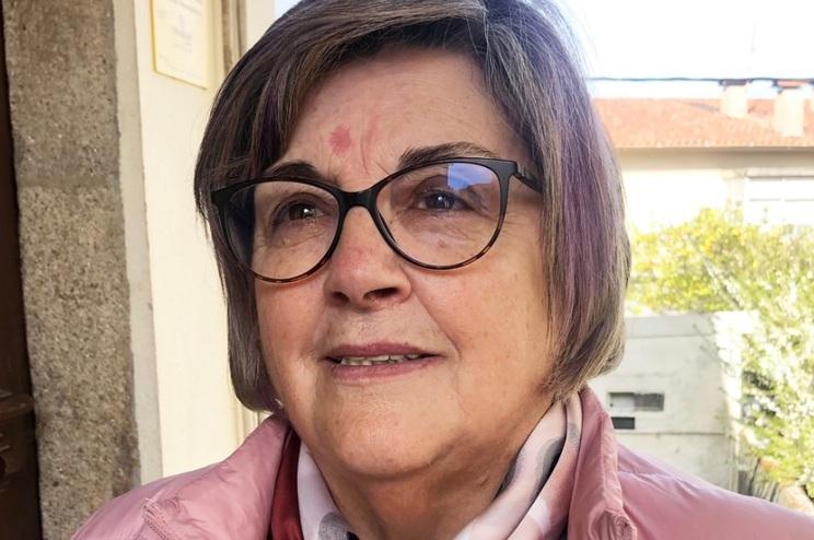 Teresa Azevedo, presidente da delegação de Mangualde da Cruz Vermelha Portuguesa