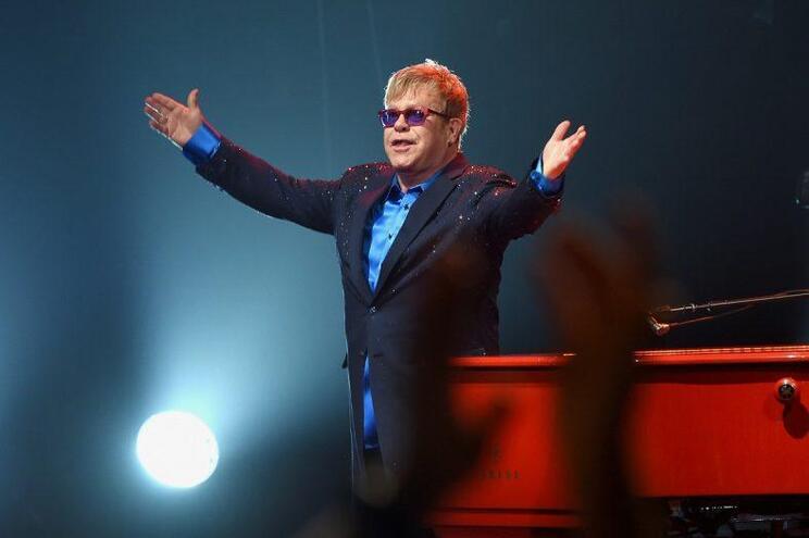 O Ferrari de Elton John que está a dar que falar