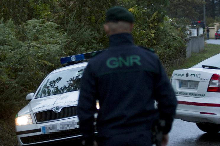A GNR da Charneca da Caparica e Sobreda da Caparica deslocaram-se ao local