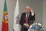 António Arnaut, considerado o pai do SNS, discursa durante a celebração dos 35 anos do Serviço Nacional