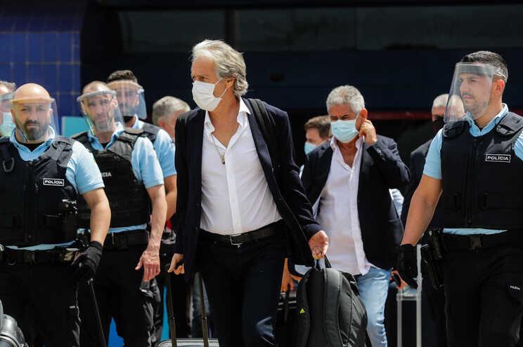 Jesus vai ser apresentado como treinador da equipa de futebol do Benfica na segunda-feira