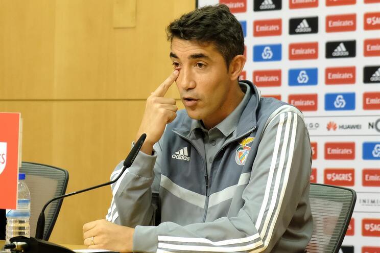Bruno Lage quer Benfica ao melhor nível