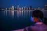 Vista do rio Yangtze, em Wuhan