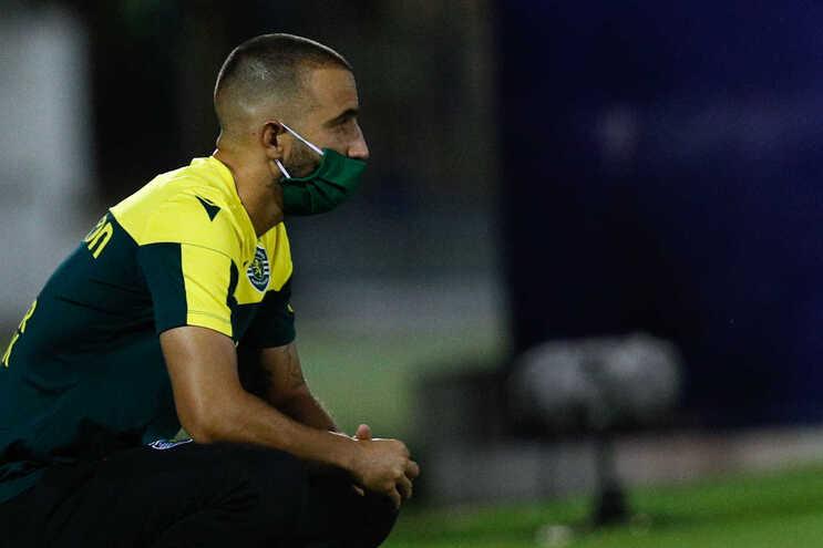 Preocupações acrescidas para o treinador do Sporting, Rúben Amorim