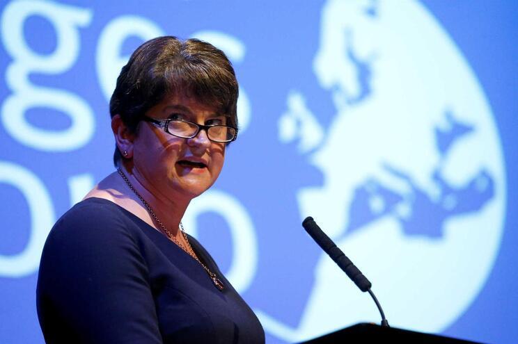 A líder do DUP, Arlene Foster