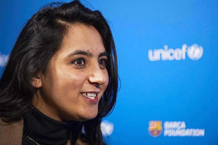 A ex-jogadora Khalida Popal foi a primeira a denunciar a violência sexual, as ameaças de morte e violações