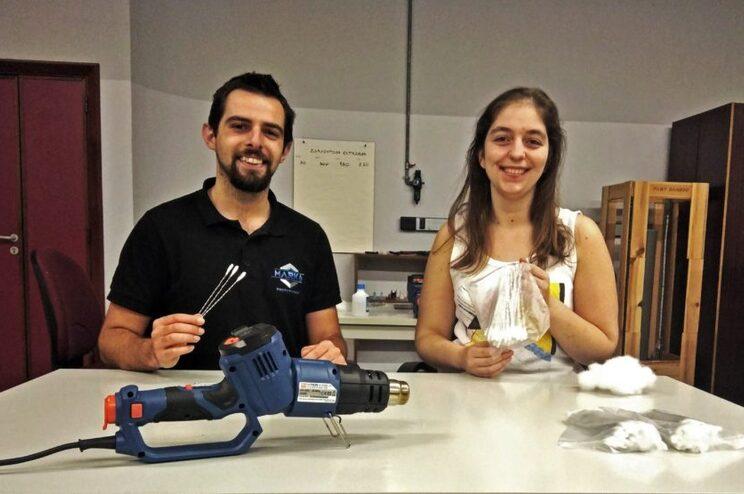 Daniel Varela e Joana Pedroso têm uma empresa de prototipagem