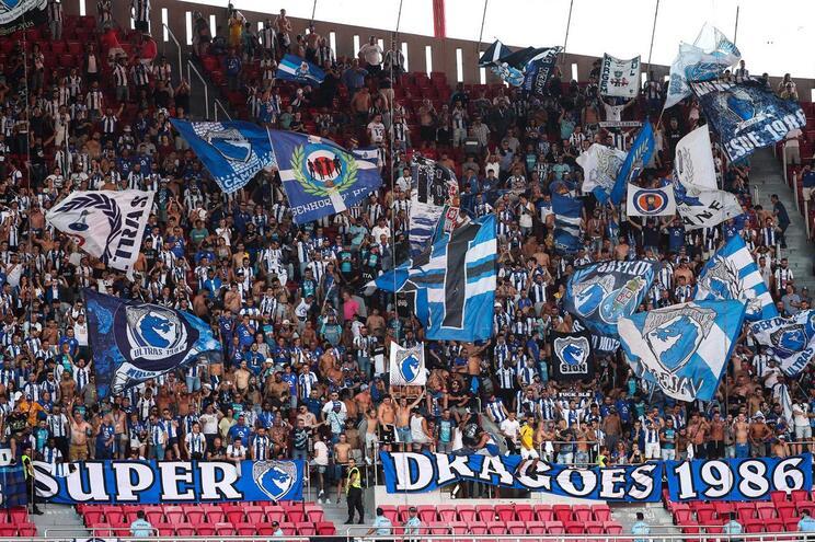 Lisboa, 24/08/2019 - O Sport Lisboa e Benfica recebeu esta noite o Futebol Clube do Porto, no Estádio